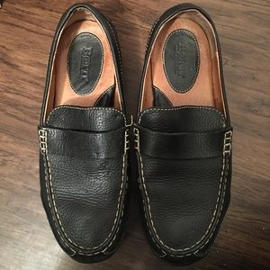 Born leather moccasin style loader shoe like new
